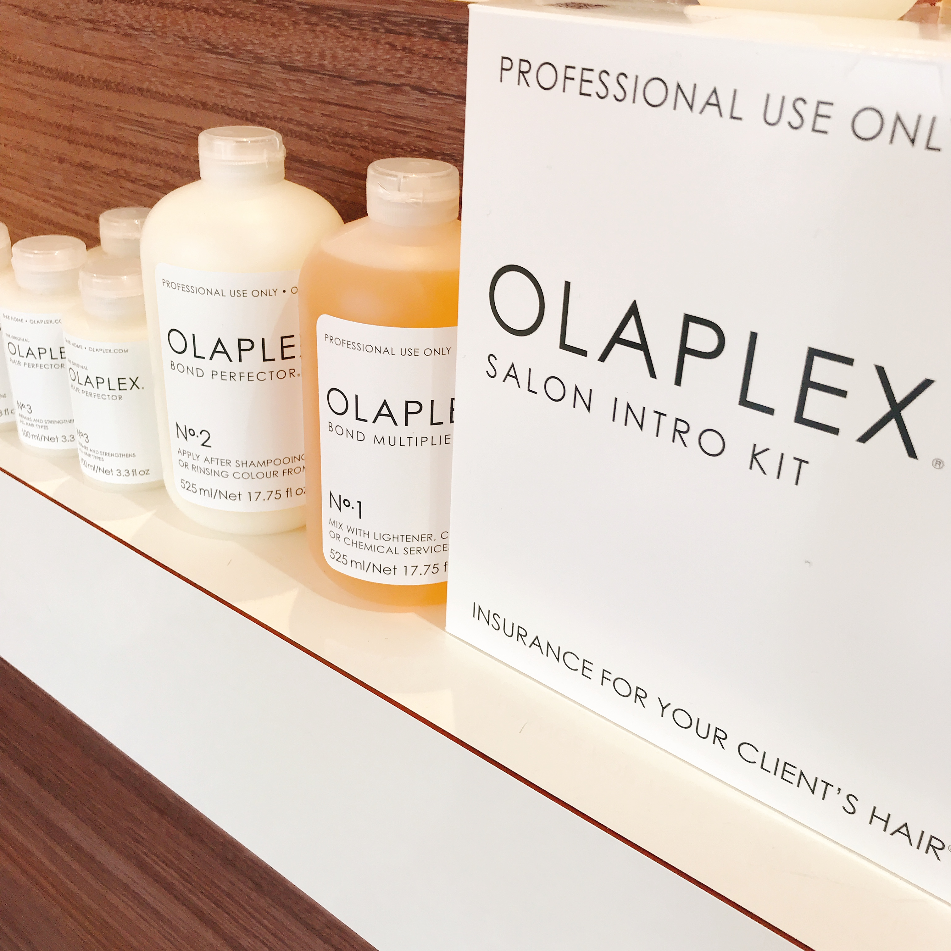 OLAPLEX professional use